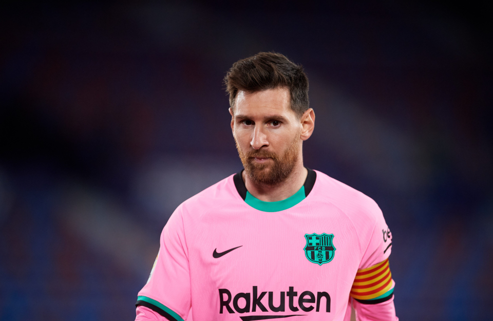 Lionel Messi leave Barca