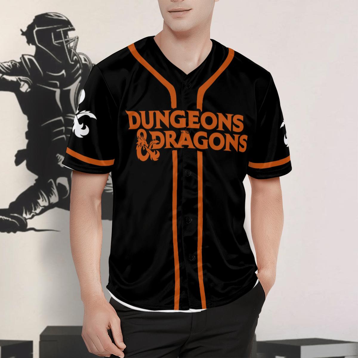 Dungeons Dragons Game Hawaiian Shirt Button Up Shirt