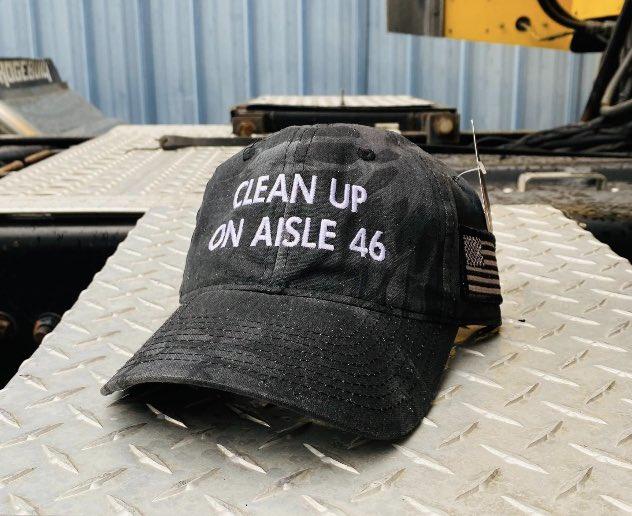 Clean up on aisle 46 Biden cap