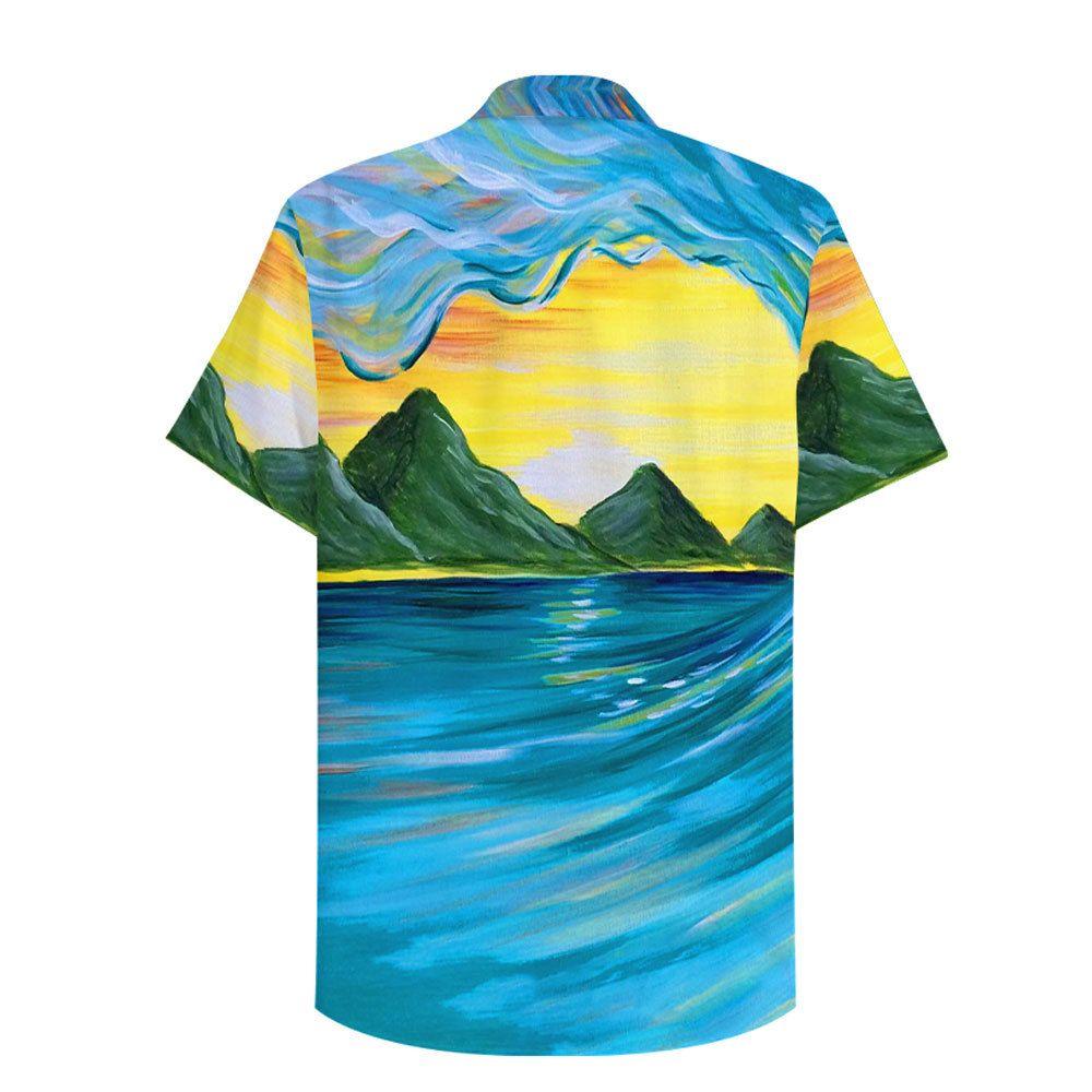 Batman gotham Surfing Hawaiian Shirt Button Up Shirt