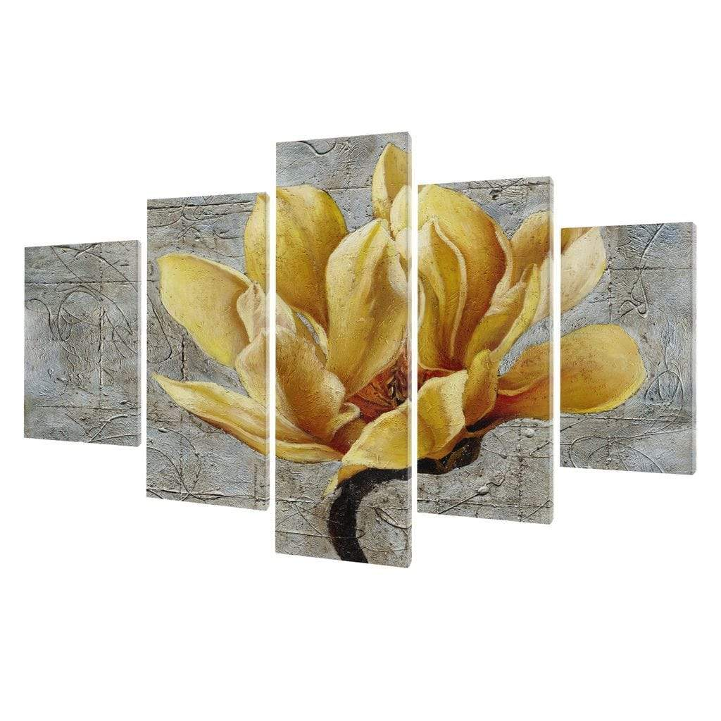 5P Canvas Flower of Life 5 panel wall art canvas