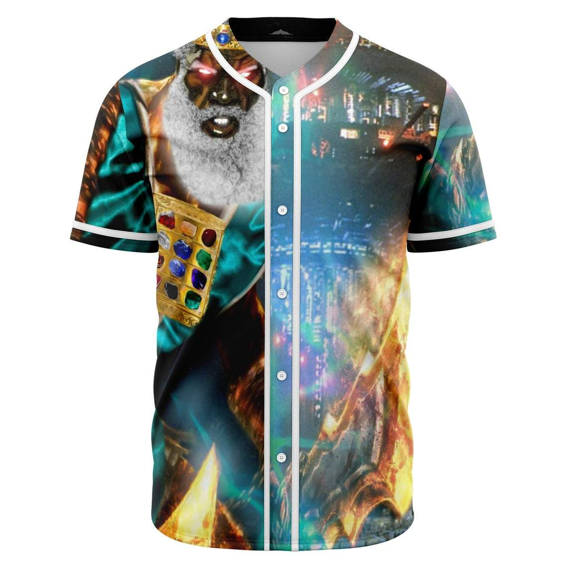 Hebrew Israelite Last Days Baseball Jersey Full Size and Color