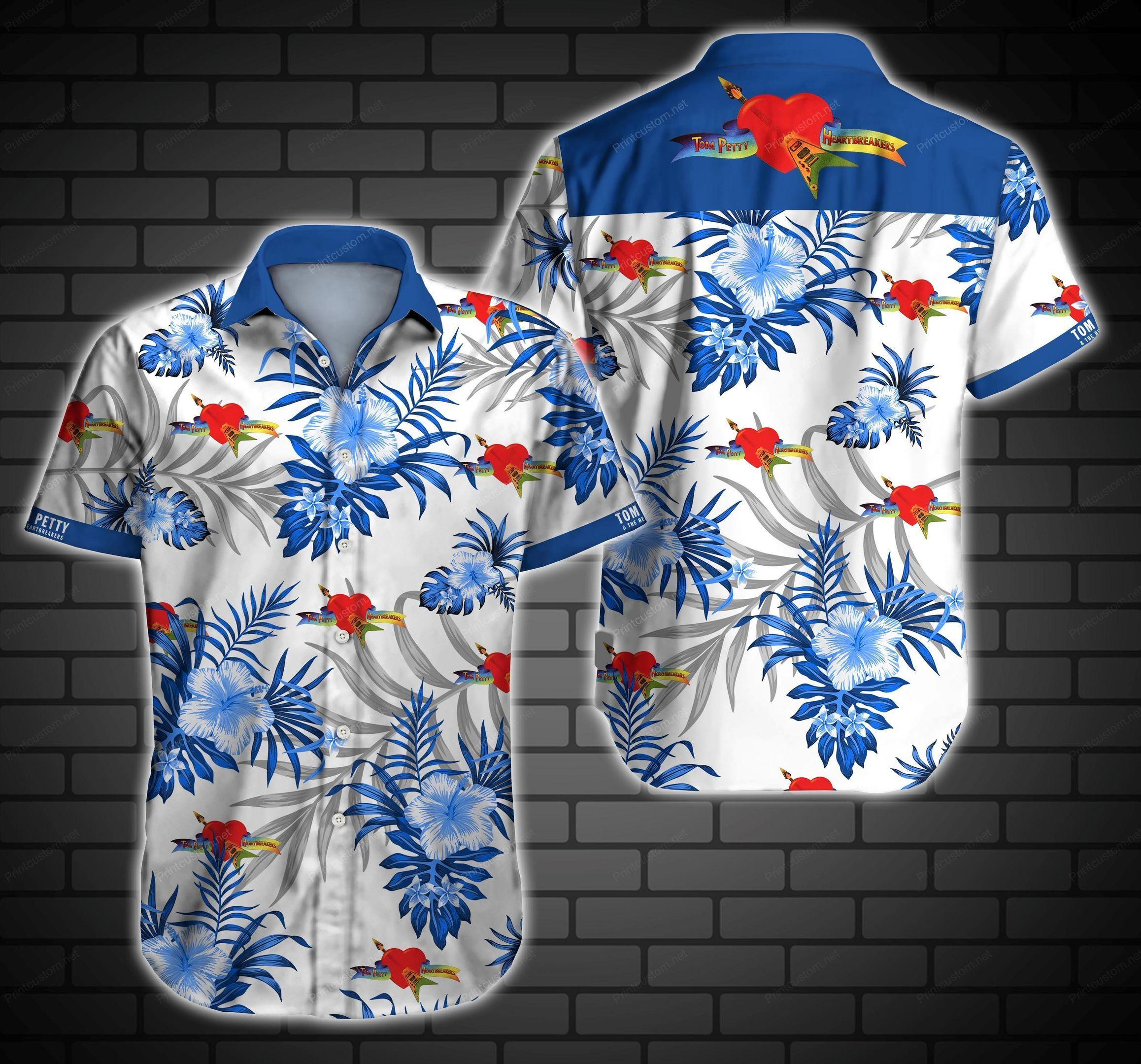 HOT Tom Petty And The Heartbreakers Hawaii Shirt