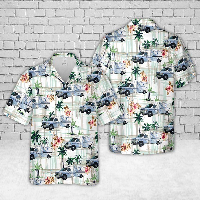 Pennsylvania Bensalem EMS Hawaiian Shirt