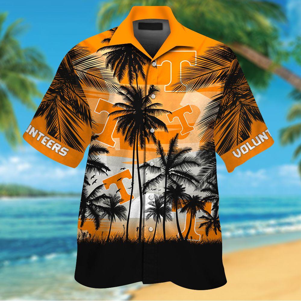 NCAA Texas Longhorns Summer Hawaiian Shirt Men Women Shorts