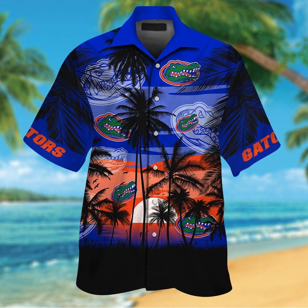 NCAA Florida Gators Summer Hawaiian Shirt Men Women Shorts