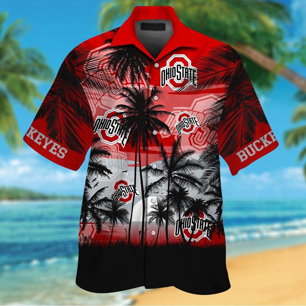 NCAA Oklahoma Sooners Summer Hawaiian Shirt Men Women Shorts