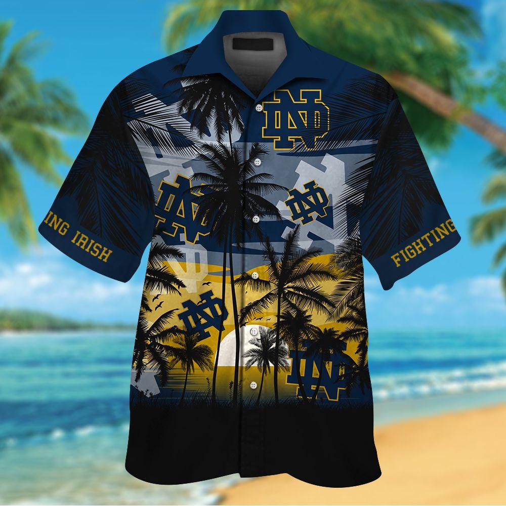 NCAA Ohio State Buckeyes Summer Hawaiian Shirt Men Women Shorts