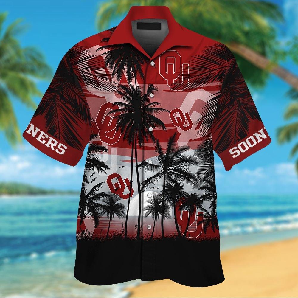 NCAA Oklahoma State Cowboys Summer Hawaiian Shirt Men Women Shorts