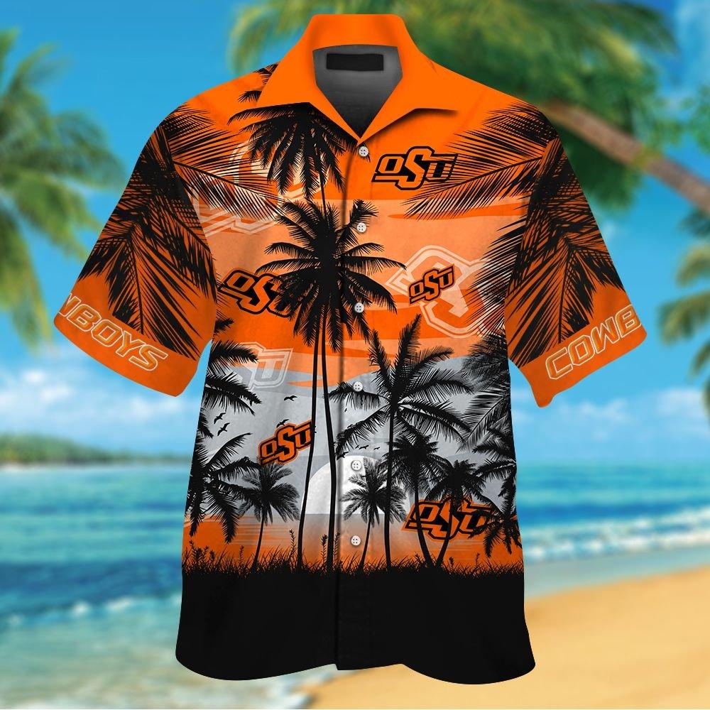 NCAA Oregon Ducks Summer Hawaiian Shirt Men Women Shorts