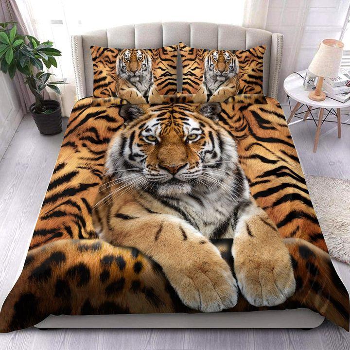 Cool Tiger All Over Print Bedding Set
