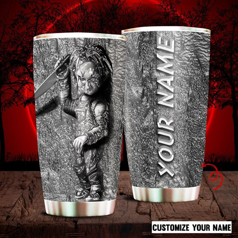 Custom-Name-Halloween-Chucky-Doll-Tumbler-1