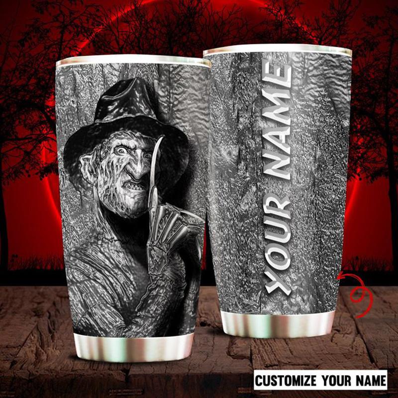 Freddy-Krueger-A-Nightmare-On-Elm-Street-Custom-Name-Tumbler-1