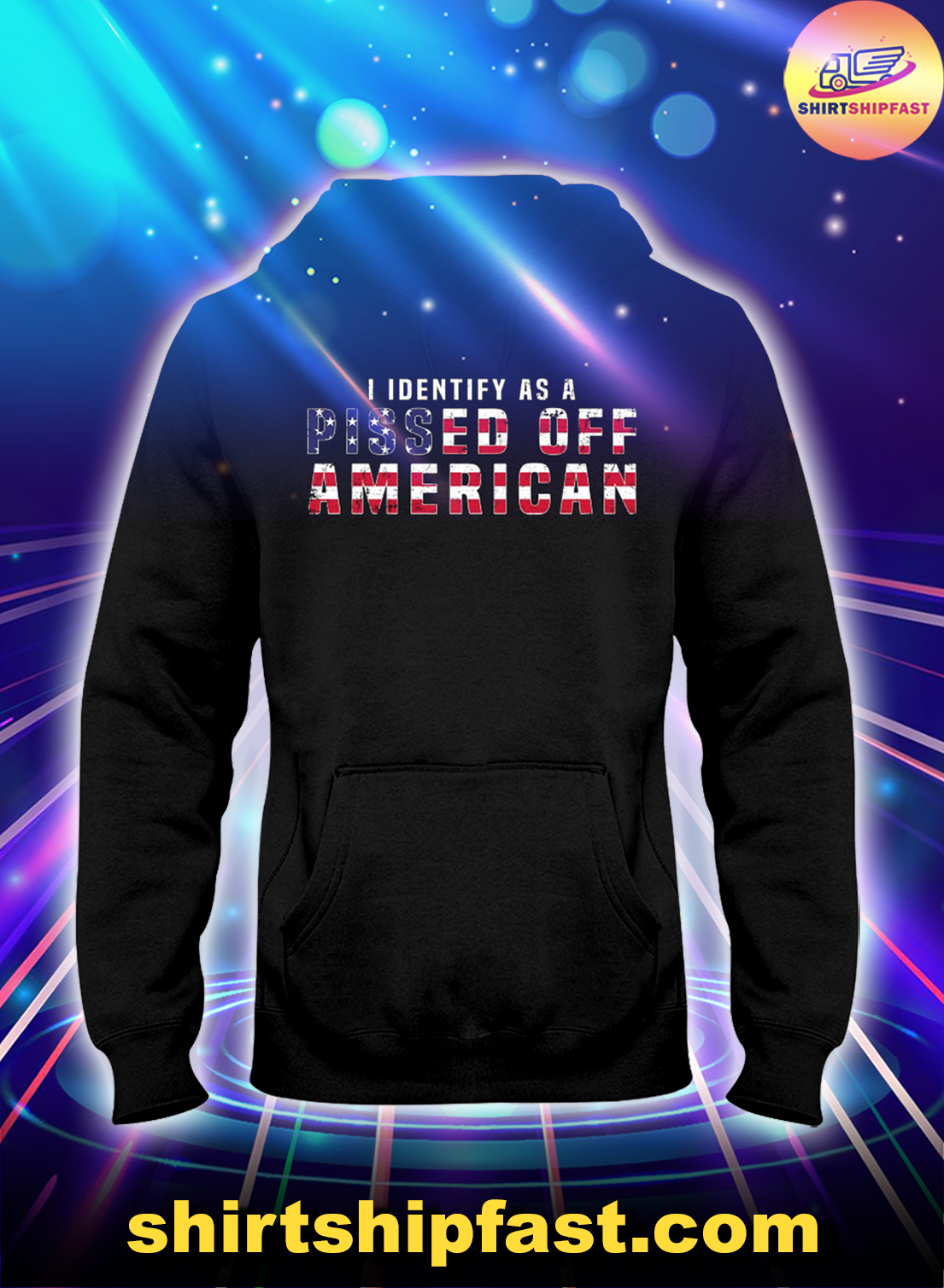I-identify-as-a-pissed-off-American-US-flag-hoodie -2