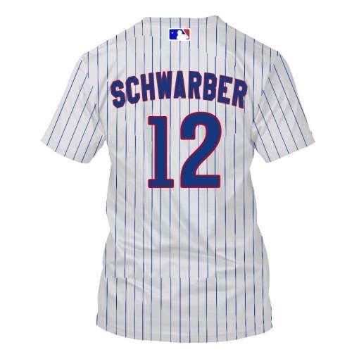 Kyle Schwarber Chicago Cubs 3D Full Print Shirt