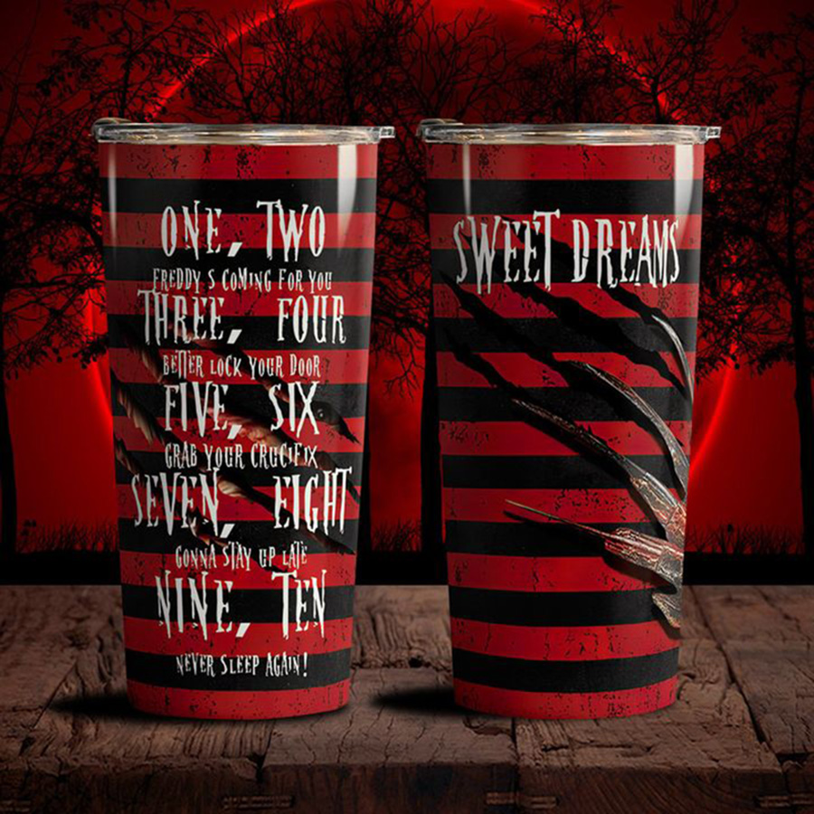 Sweet-Dreams-One-Two-Freddy-Coming-For-You-Tumbler-2