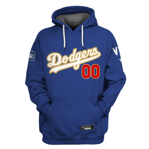 Los Angeles Dodgers Custom Name And Number 3D Full Print Shirt