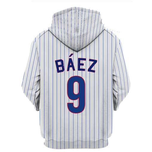 Javier Baez Chicago Cubs 3D Full Print Shirt