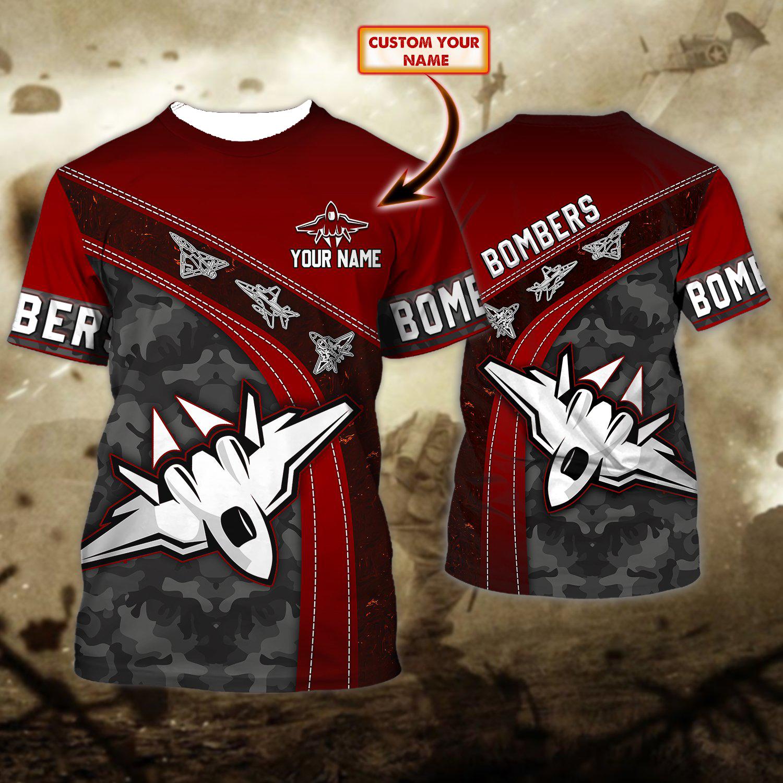 Essendon Bombers Personalized 3D Full Print Shirt