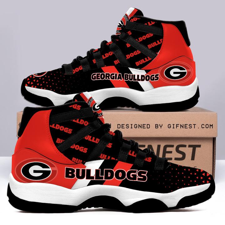 Georgia Bulldogs Air JD11 Shoes Sneaker