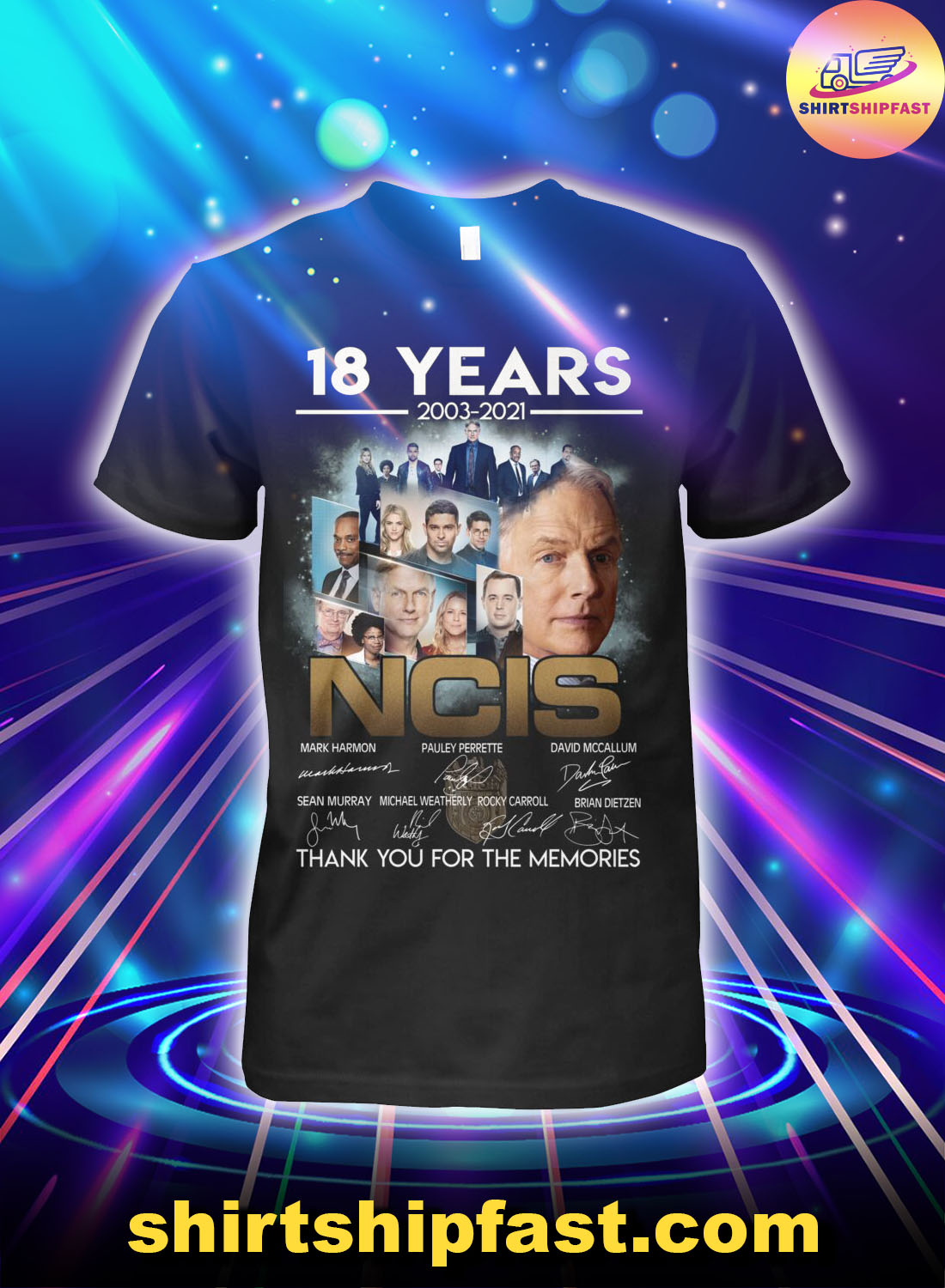 18-years-2003-2021-NCIS-signatures-thank-you-for-the-memories-shirt-2