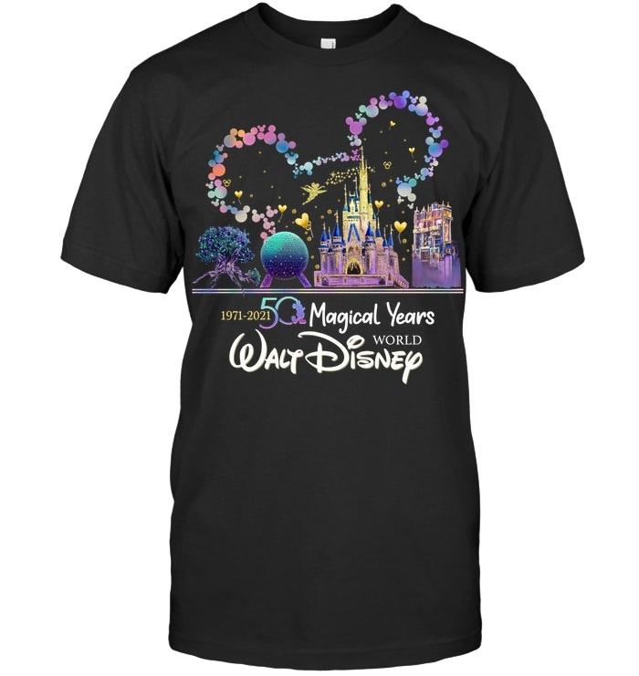 1971 2021 50 magical years Walt Disney World