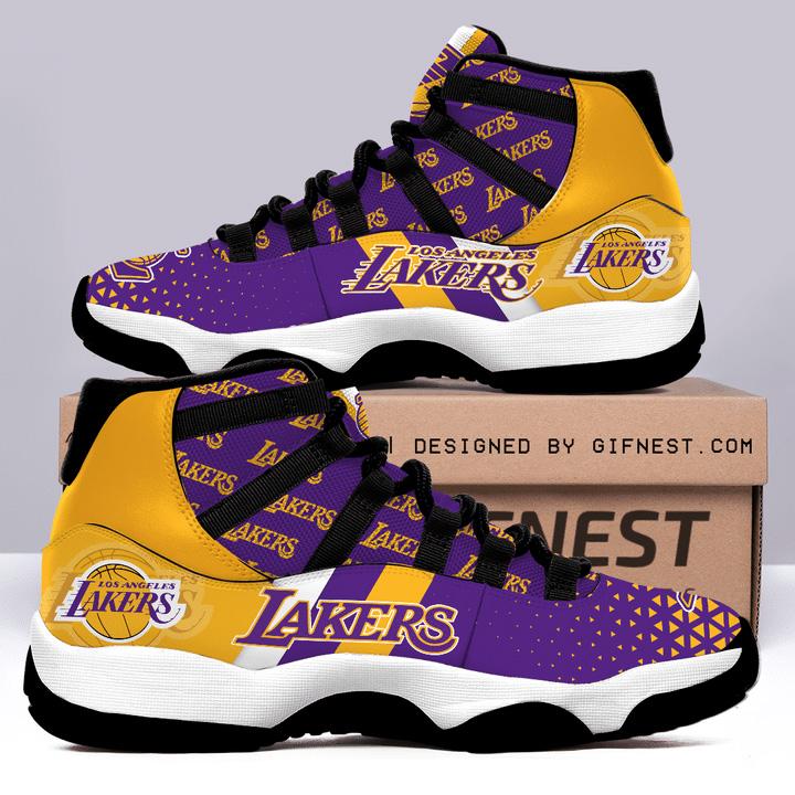 Los Angeles Lakers Air JD11 Shoes Sneaker