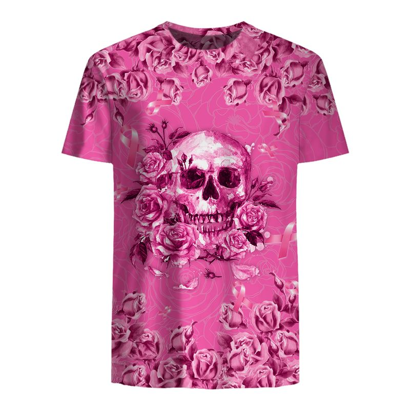 Breast Cancer Warrior 3D All Over Print Shirt