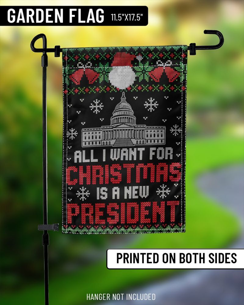 All I want for christmas is a new president flags-1
