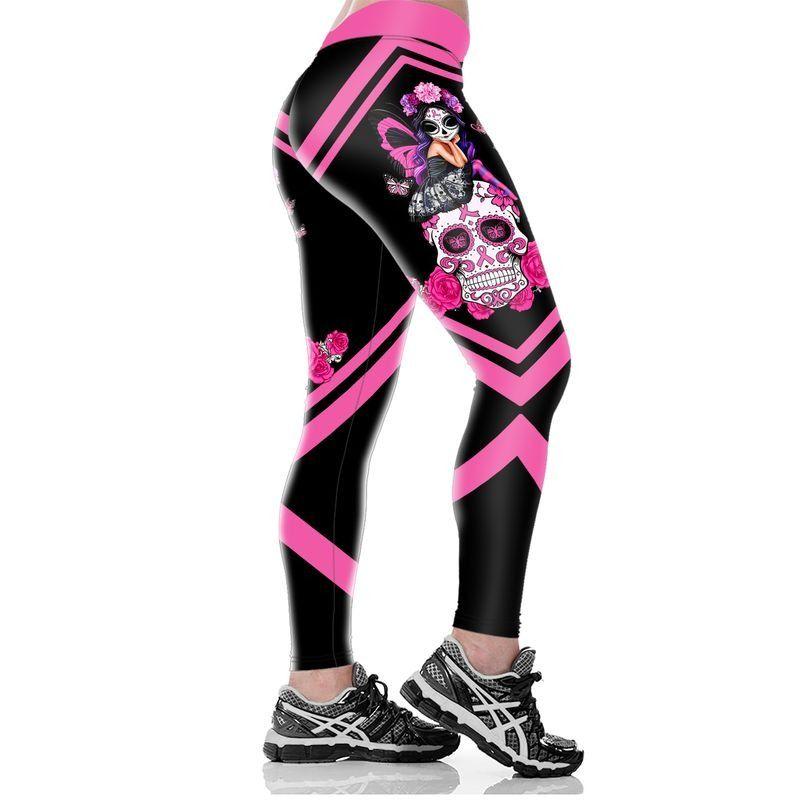 Breast Cancer Awareness Fight Like A Girl 3D Legging