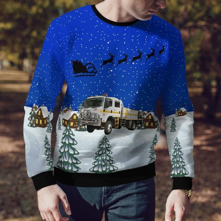 Bush-Fire-Service-Isuzu-4.4-Rural-Tanker-Ugly-Christmas-Sweater-1