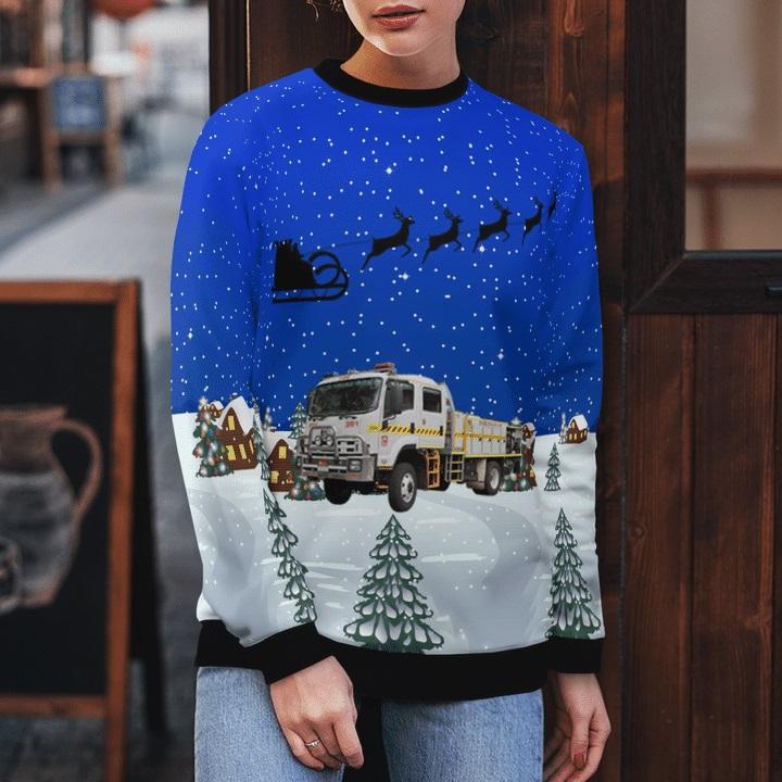 Bush-Fire-Service-Isuzu-4.4-Rural-Tanker-Ugly-Christmas-Sweater-2