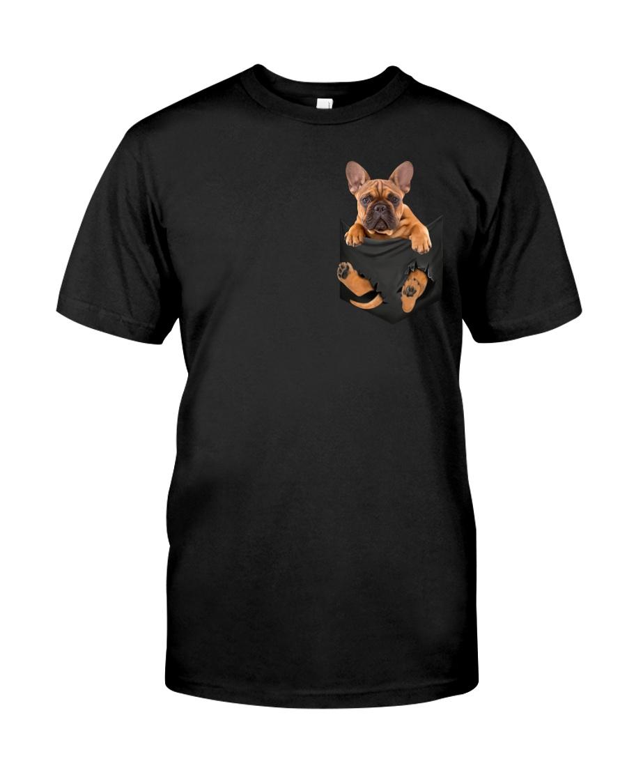 French Bulldog In Pocket Classic T-Shirt