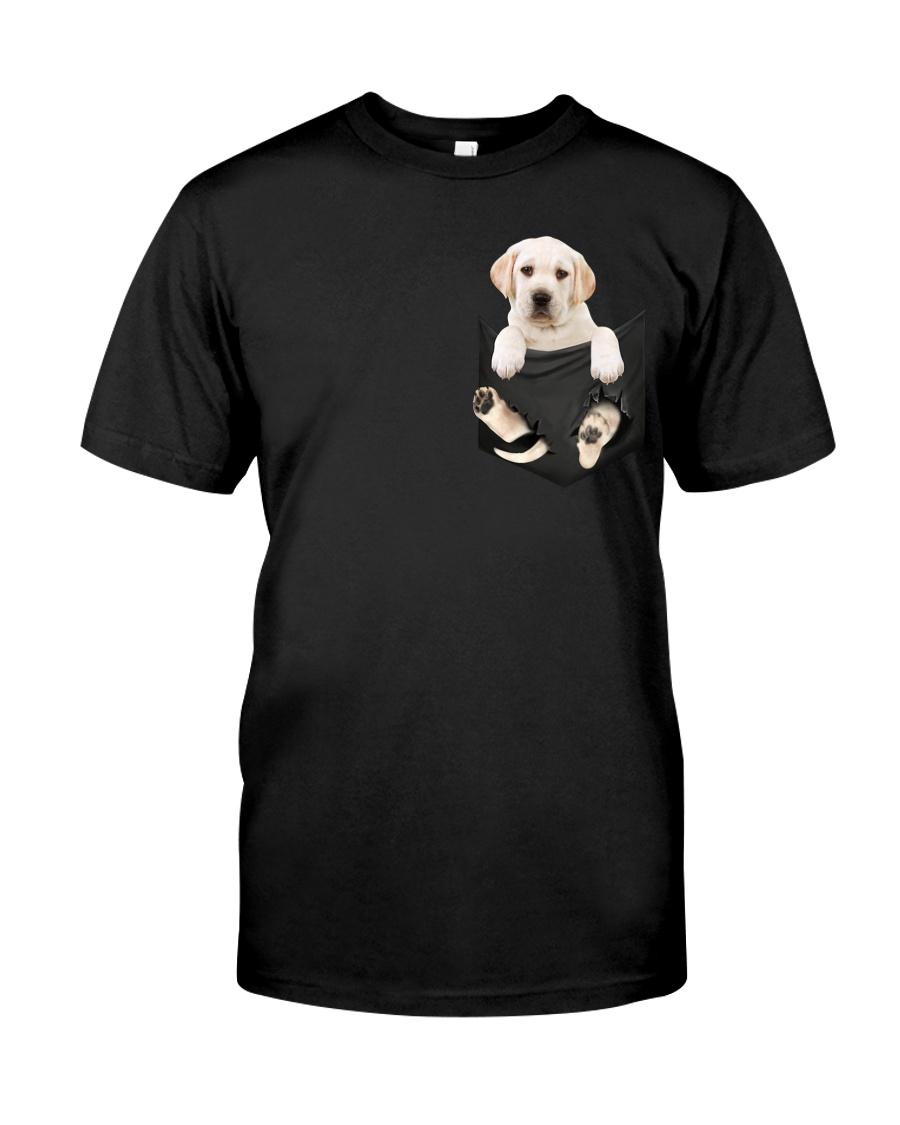 Labrador Retriever In Pocket Classic T-Shirt
