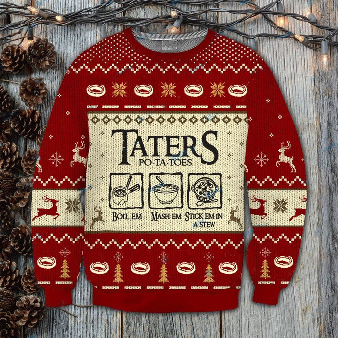 Lord-of-the-Rings-Taters-Potatoes-Sweater - 2