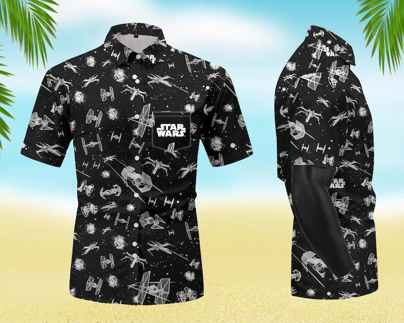 Native Star Wars All Over Print Hawaiian Shirt
