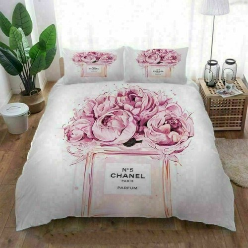 Coco Chanel Luxury Flowers Bedding Sets