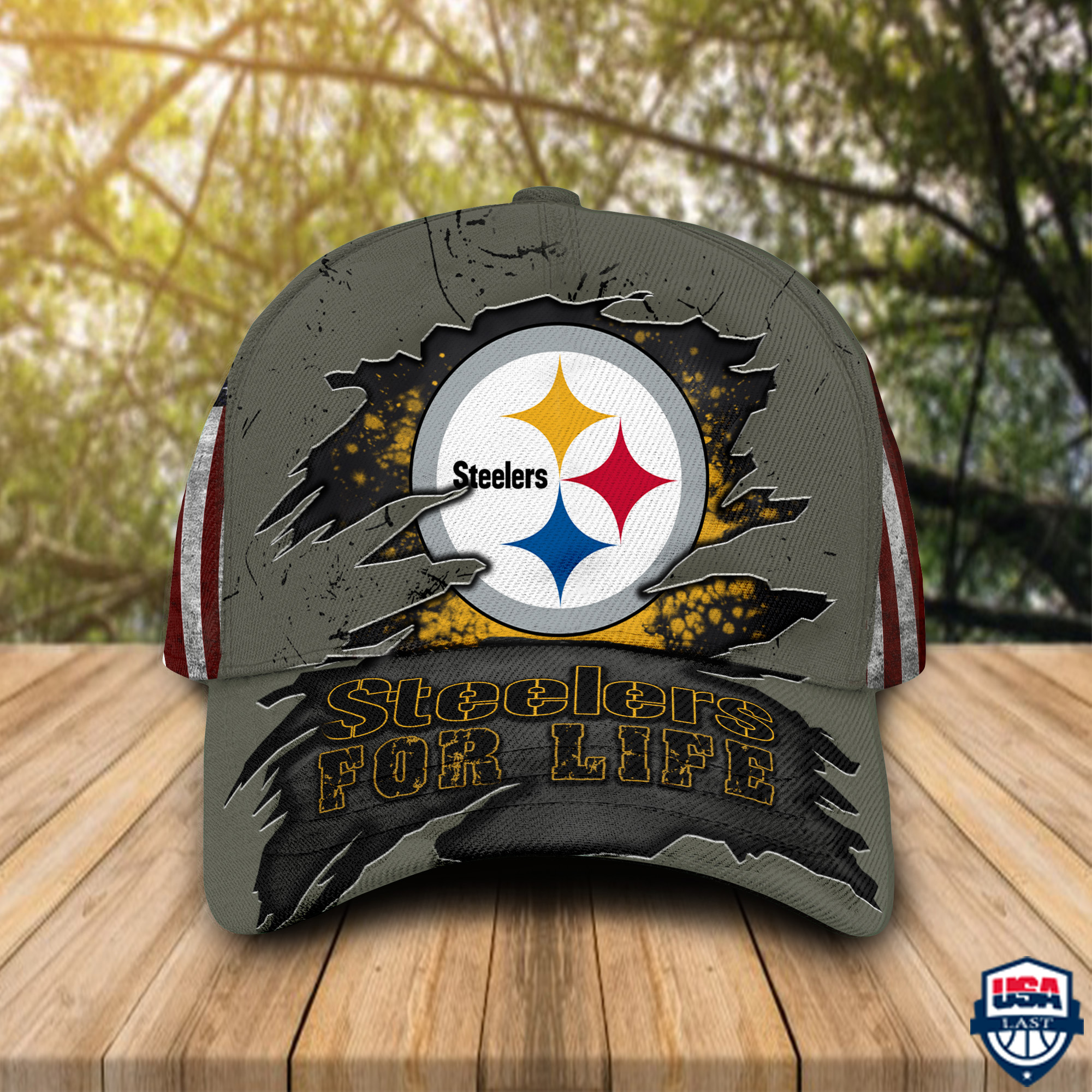 Pittsburgh Steelers For Life Sport Cap For Fan